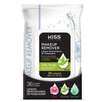 Lenço Demaquilante RK by Kiss Rosa Chá Verde -