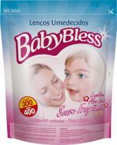 Lenço Umedecido Babybless Refil 400 Unidades -