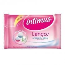 Lenço Umedecido Feminino Intimus Com 16 -