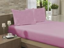 Lençol Avulso Queen Especial 235x275 Rosa Soft -