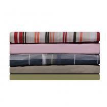 Lençol Avulso Solteiro com elástico 180 fios Innovare Nude 1 peça Textill Lar - Solteiro - Têxtil Lar