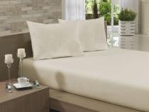 Lençol Avulso Solteiro Especial 165x270 Marfim Soft - Soft
