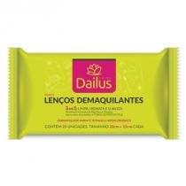 Lenços Demaquilantes 3 em 1 Dailus Color Lenços Demaquilantes - Dailus