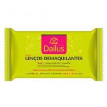 Lenços Demaquilantes Dailus - 25 Unidades - Dailus Color