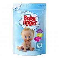 Lenços umedecidos baby roger refil 75 -