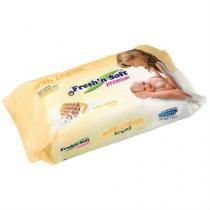 Lenços umedecidos freshn soft milk  honey  72 unidades -