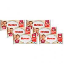 Lenços Umedecidos Huggies Natural Care  - 48 Unidades Cada 6 Pacotes