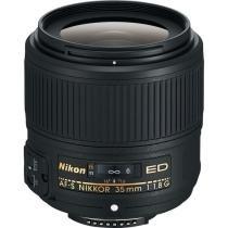 Lente Nikon AF-S FX NIKKOR 35mm f/1.8G ED - Nikon