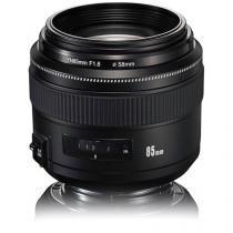 Lente Yongnuo YN 85mm f / 1.8 para Canon EF -