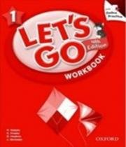 Lets Go 1 - Workbook With Online Pack - 04 Ed - Oxford