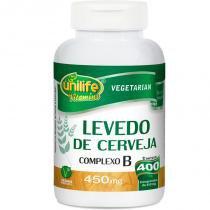 Levedura de Cerveja Complexo B 400 comprimidos Unilife -