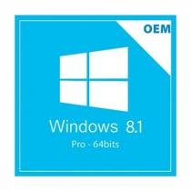 Licença Microsoft Windows 8.1 Professional 64 Bits FQC-06952 -