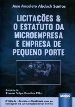 Licitações  O Estatuto da Microempresa e Empresa de Pequeno Porte - Juruá