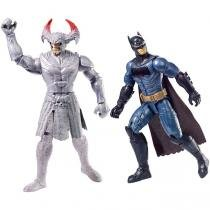 Liga Da Justiça Steppenwolf vs Batman - Mattel -