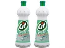 Limpador Líquido Sanitário Cif Ultra Rápido - com Cloro 2 Unidades