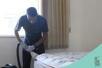 Limpeza de colchão de solteiro - Dr. lava tudo
