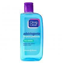 Limpeza Facial Clean  Clear Adstringente Pele Sensível - 200ml - Clean  Clear