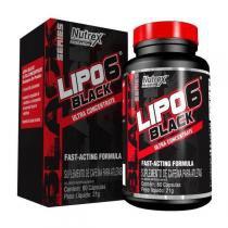 Lipo 6 Black - 60 Cápsulas - Nutrex -