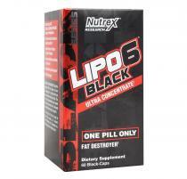 Lipo 6 Black Ultra Concentrado (60 Caps) - Nutrex - Nutrex research