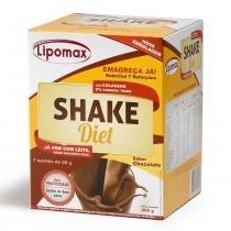 Lipomax Shake Diet Chocolate 58g C/ 7 Sachês - LIPOMAX