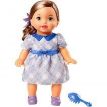 Little Mommy Doce Bebê Morena Vestido Lilás - Mattel -