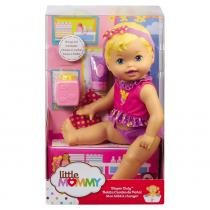 Little Mommy Momentos do Bebê Hora da Trocar a Fralda  - Mattel - Mattel