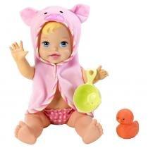 Little Mommy Momentos do Bebê Hora do Banho - Mattel -