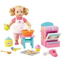 Little Mommy Pequena Chef - Mattel -