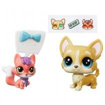 Littlest Pet Shop Earl Duketon e Ena Foxworth - Hasbro -