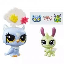 Littlest Pet Shop Eona Eventide e Elvin Lamplight Firefly - Hasbro -