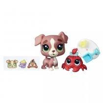 Littlest Pet Shop Grandes Possibilidades Calla Boxton e Blossom Clawson - Hasbro -