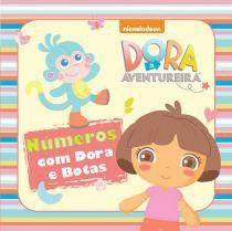 Livrinho de Banho Números com Dora e Botas - Ciranda - Ciranda Cultural