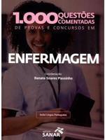 Livro - 1.000 Questões Comentadas de Provas e Concursos em Enfermagem - Passinho - Sanar
