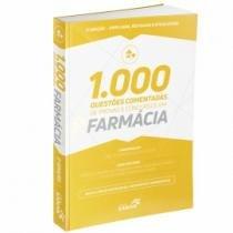 Livro - 1.000 Questões Comentadas de Provas e Concursos em Farmácia - Costa - Sanar