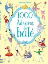 Livro - 1000 adesivos de balé -