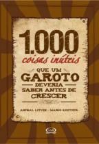 Livro - 1000 coisas inúteis que um garoto deveria saber antes de crescer -