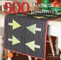 Livro - 500 blocos de patchwork -