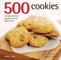 Livro - 500 cookies -