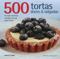 Livro - 500 tortas doces & salgadas -