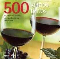 Livro - 500 vinhos tintos -