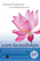 Livro - A arte da meditação -