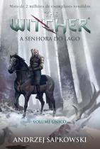 Livro - A Senhora do lago - The Witcher - A saga do bruxo Geralt de Rívia (Capa game) -