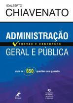 Livro - Administração geral e pública - provas e concursos
