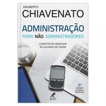 Livro - Administração para não administradores -