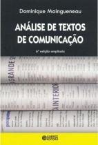 Livro - Análise de textos de comunicação -