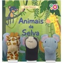 Livro animais da selva dican -