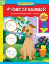 Livro - Animais de estimação : Aprendendo a desenhar -