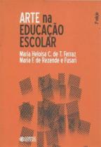 Livro - Arte na educação escolar -