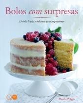Livro - Bolos com surpresas -