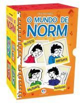 Livro - Box o mundo de Norm -